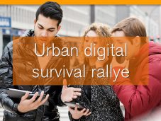 Urban digital survival rallye